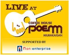 Live @ poem logo