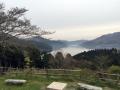 芦ノ湖が見える展望所