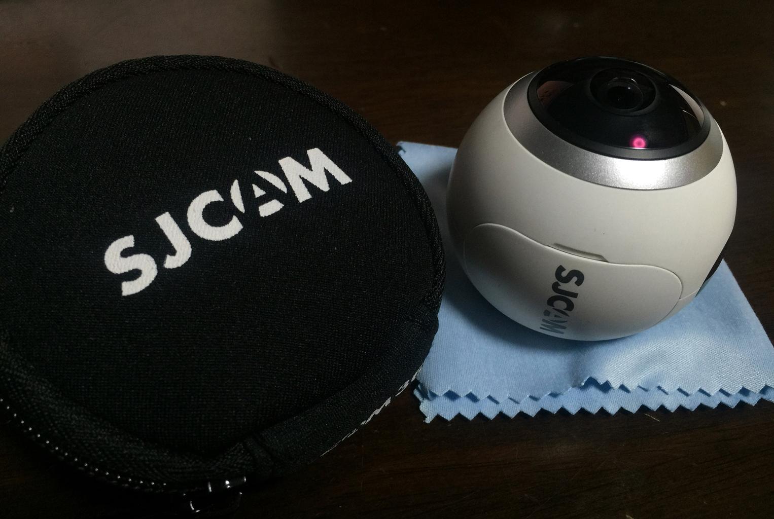 半天球2K360度カメラ SJ360
